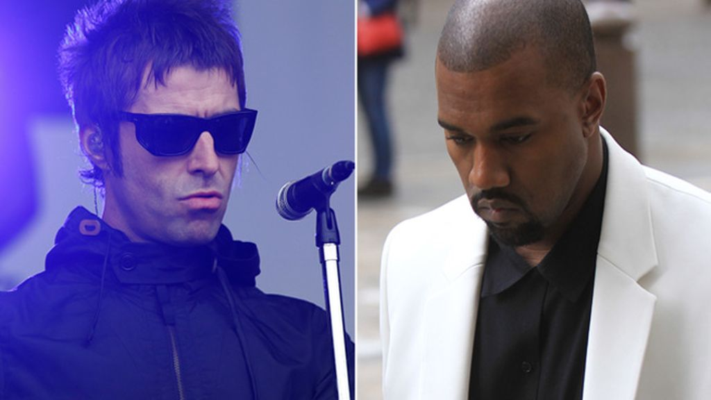 Liam Gallagher y Kanye West