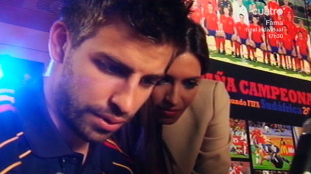 La entrevista de Sara Carbonero a Piqué, en fotos