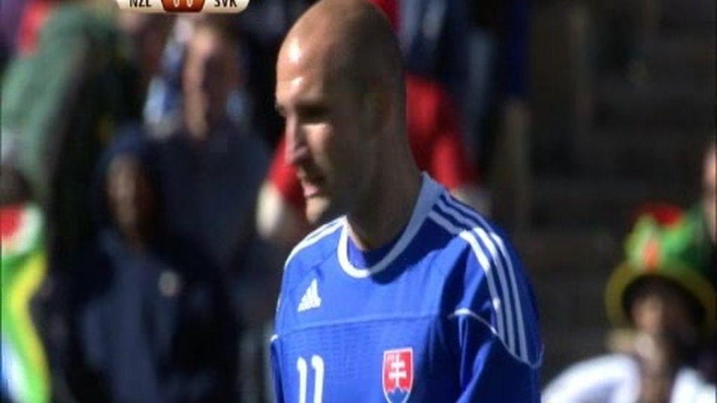 Grupo F: Nueva Zelanda 1 - 1 Eslovaquia