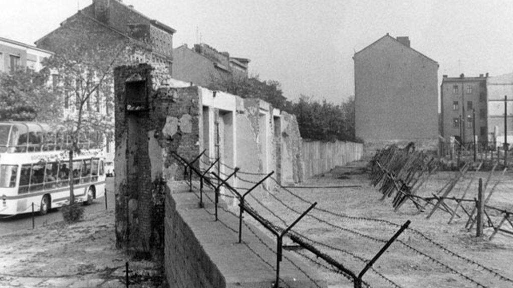 Una calle de Berlín en 1965