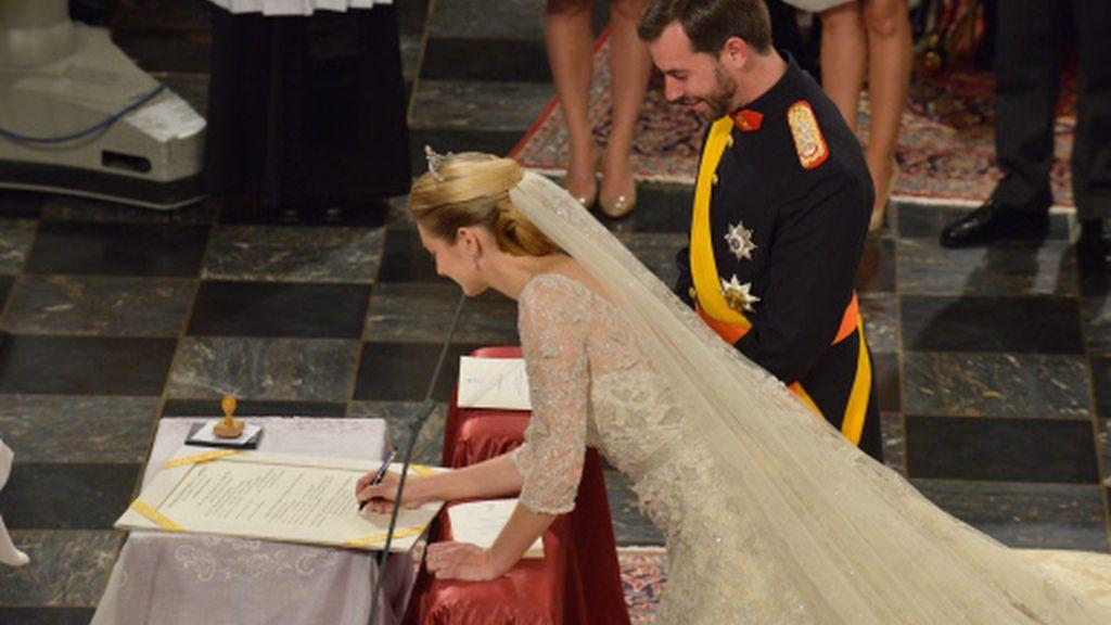 La boda religiosa de Guillermo de Luxemburgo y Stephanie de Lannoy
