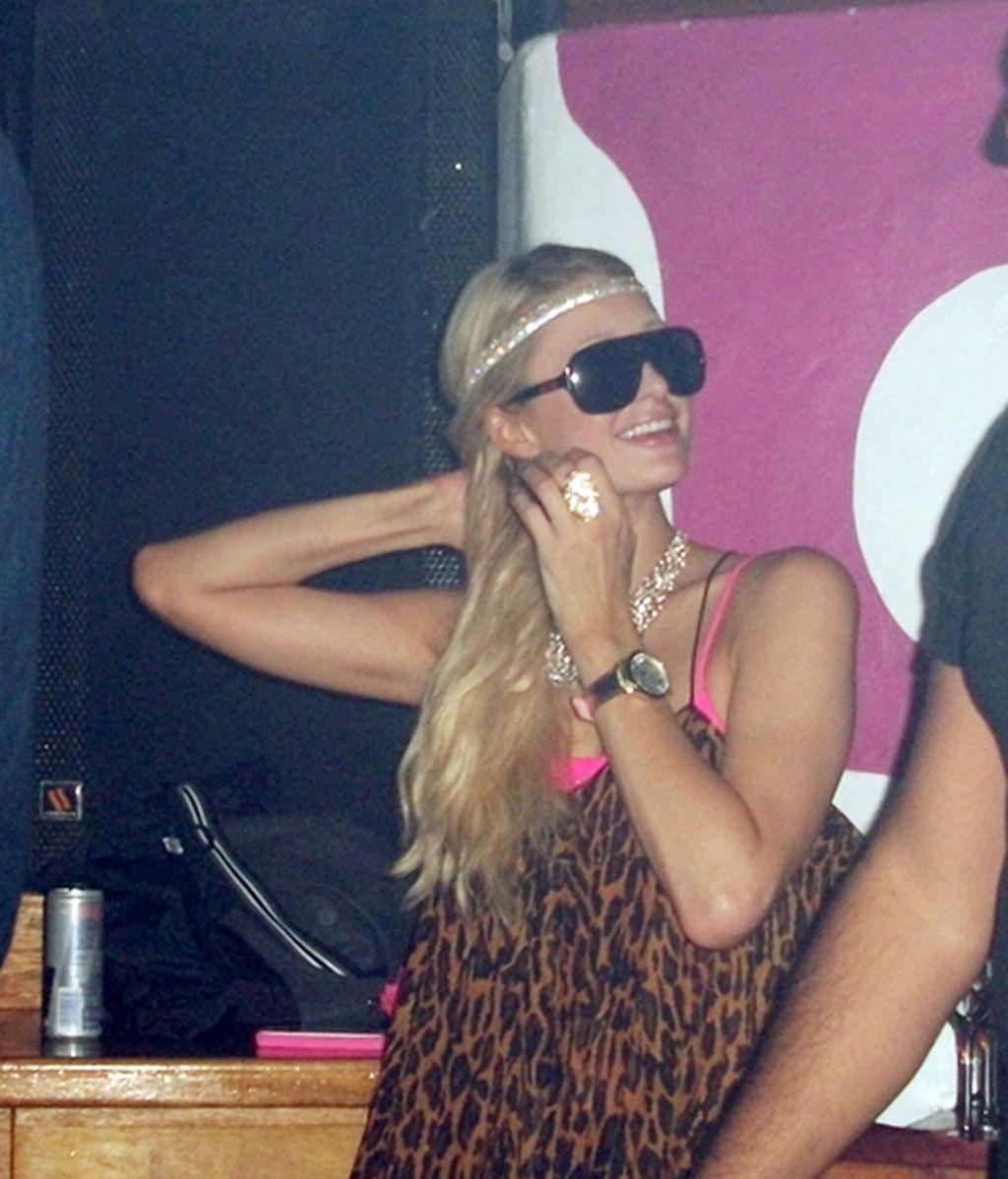 Paris Hilton en Ibiza