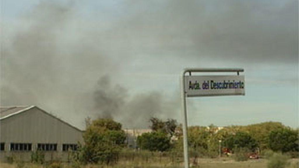 Incendio en Alcalá de Henares