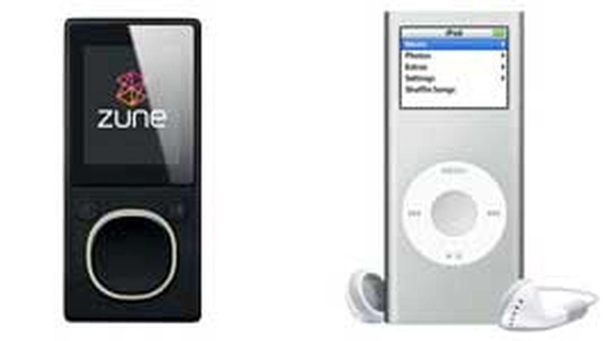 Zune tiene el 3% del mercado en EE.UU. frente al 70% de iPod.