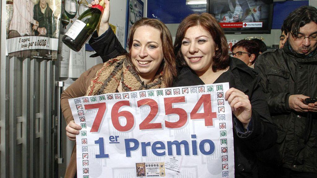 El primer premio del sorteo de El Niño reparte millones en Monforte de Lemos