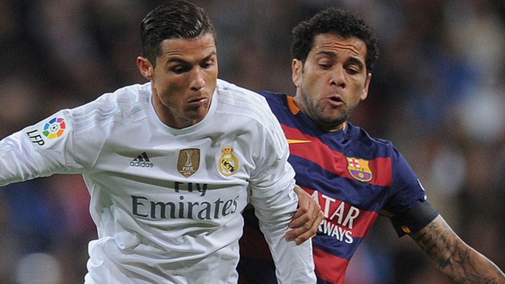 Dani Alves, Cristiano Ronaldo, Real Madrid