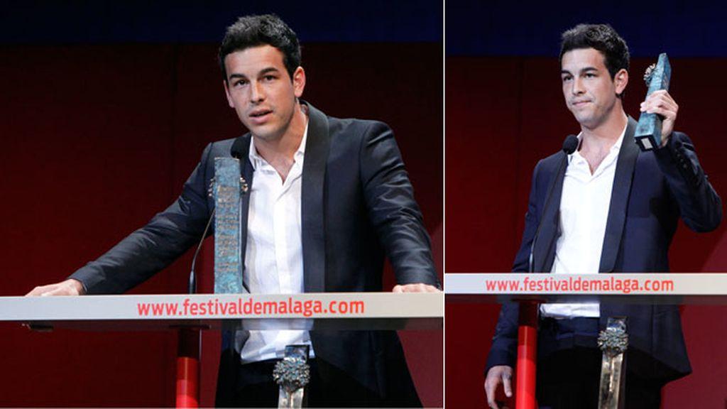 El actor Mario Casas en el Festival de Cine de Málaga