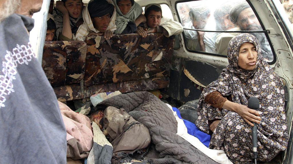 Matanza de civiles en Afganistán