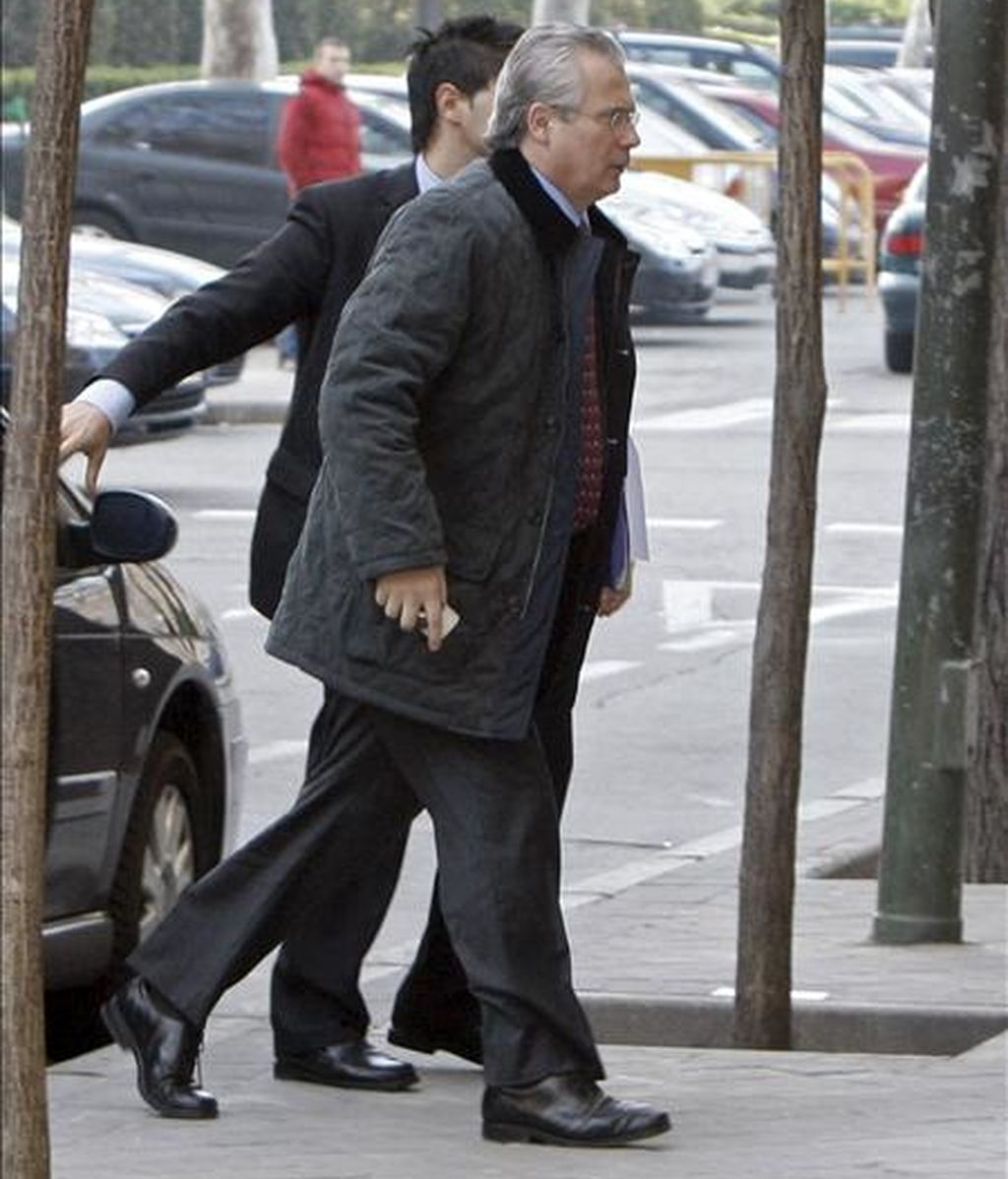 El juez de la Audiencia Nacional Baltasar Garzón. EFE/Archivo
