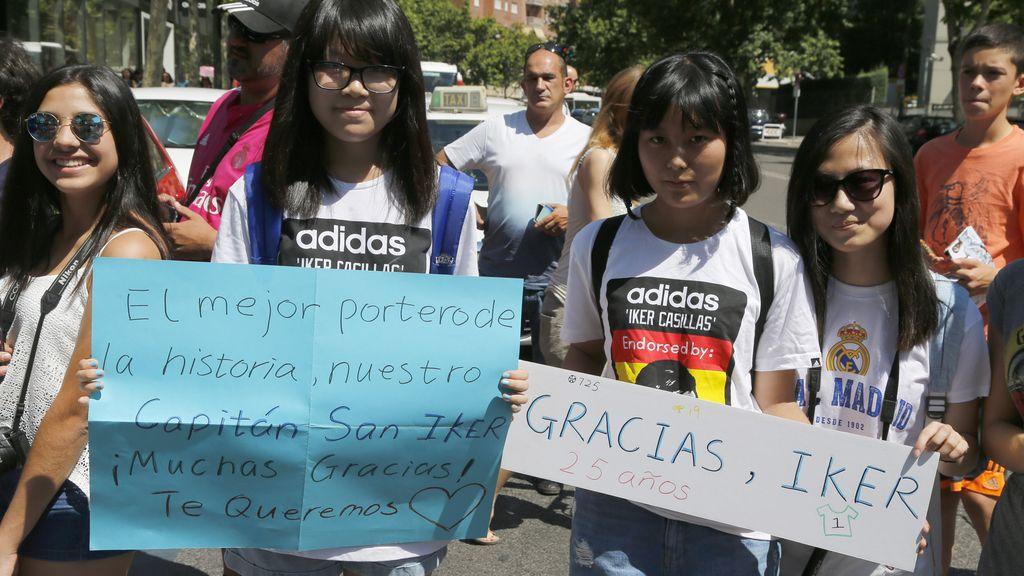 El Bernabéu despide a Casillas
