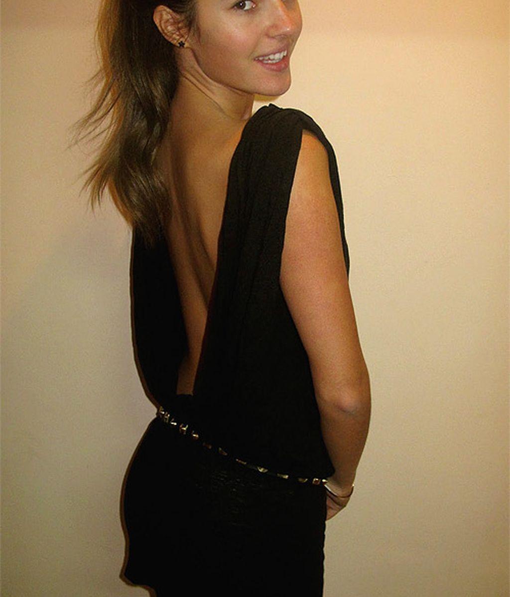 Malena Costa en Nochevieja