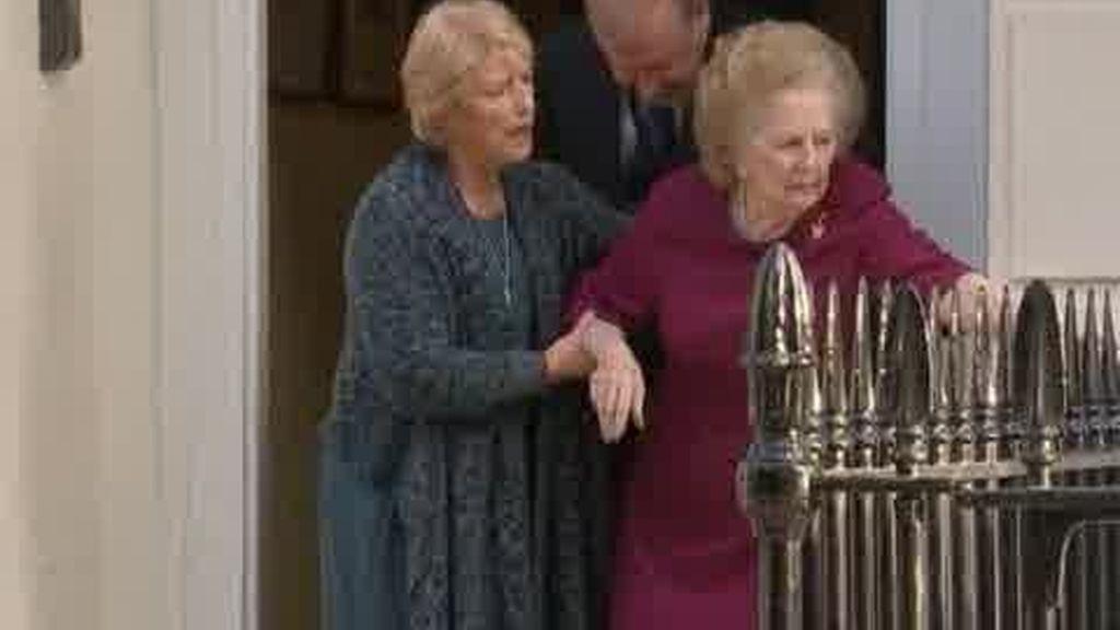 Margaret Thatcher sale del hospital
