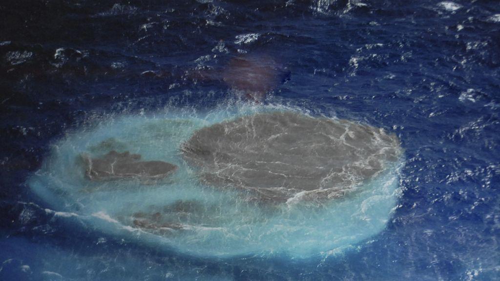 Foco eruptivo en aguas de La Restinga
