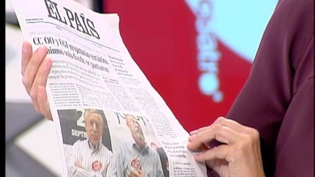 La prensa nacional reduce el número de páginas
