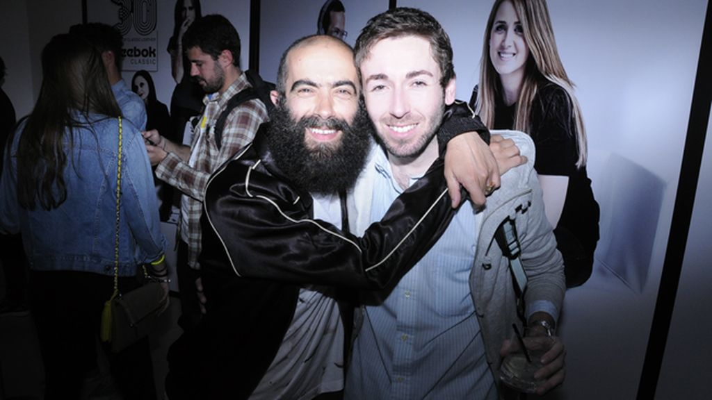 Los diseñadores Carlos Díez y Daniel Rabaneda
