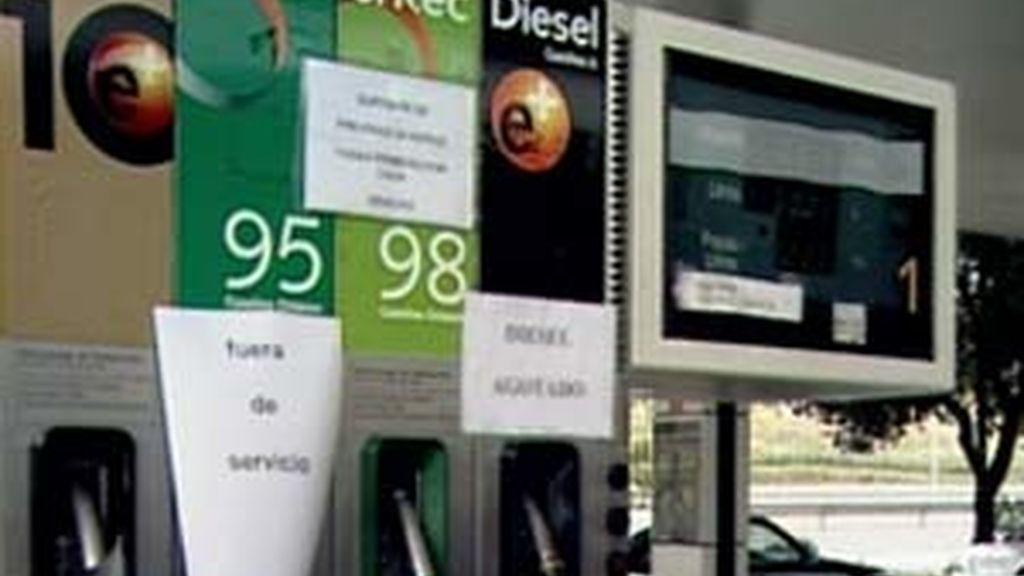 La gasolina, cada vez más cara. Foto: InformativosTelecinco.com