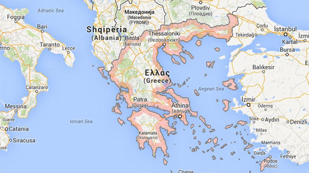 Registrado un seísmo de 6,4 de magnitud cerca de la costa de Creta