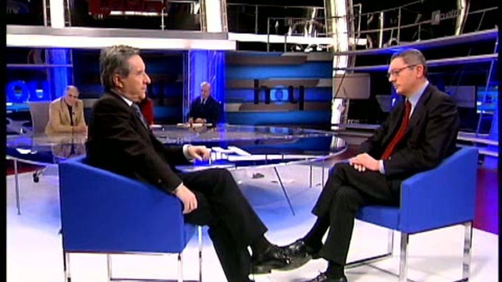 Iñaki Gabilondo entrevista a Gallardón (1ª parte)