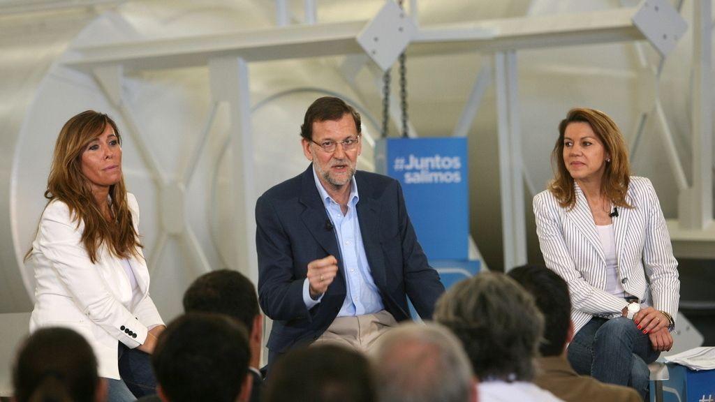 Rajoy clausura el debate 'Empresa y Crédito'