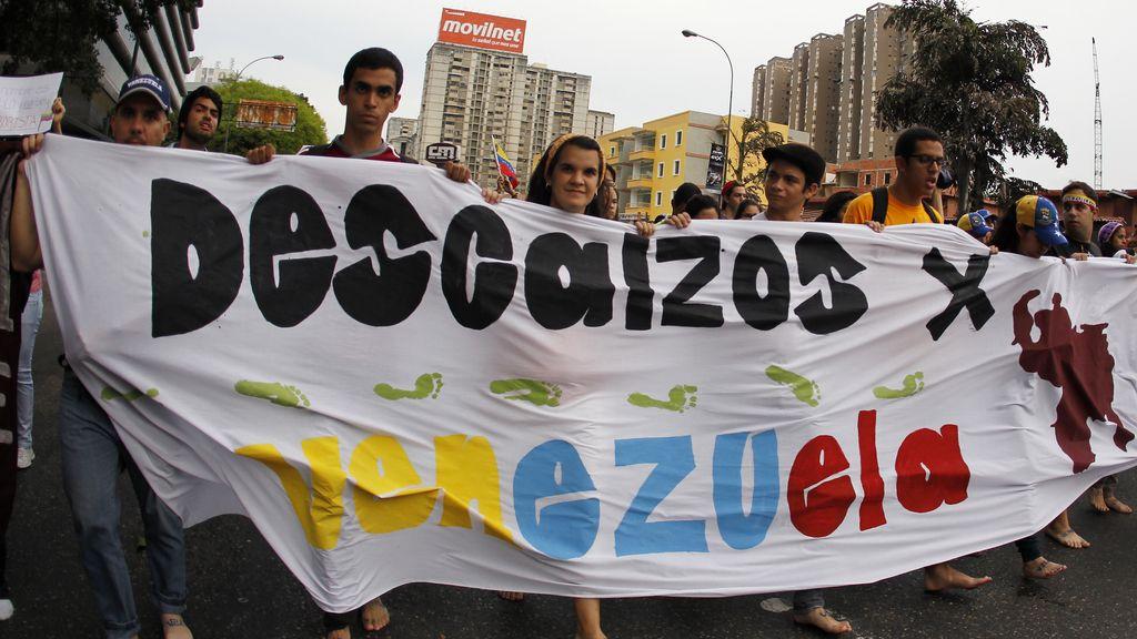 Descalzos contra Maduro