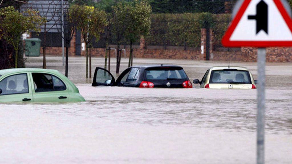 Castro Urdiales,  inundado