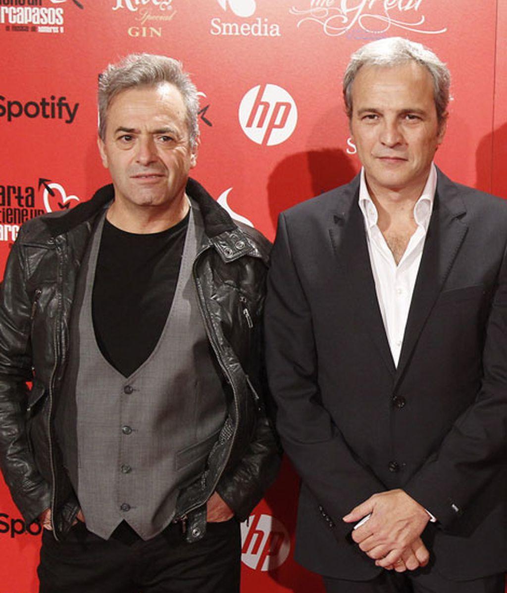 Rafael Gutierrez y David Summers, parte del grupo Hombres G