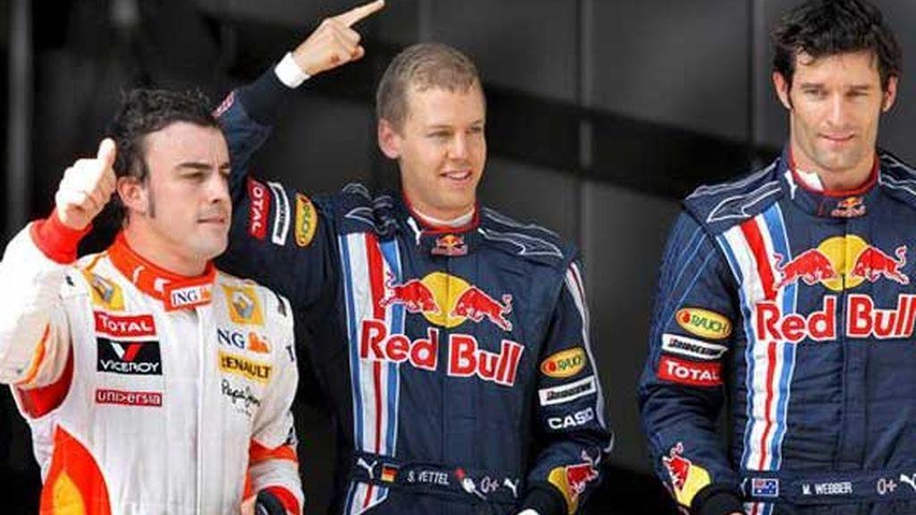 'Pole' de Sebastian Vettel
