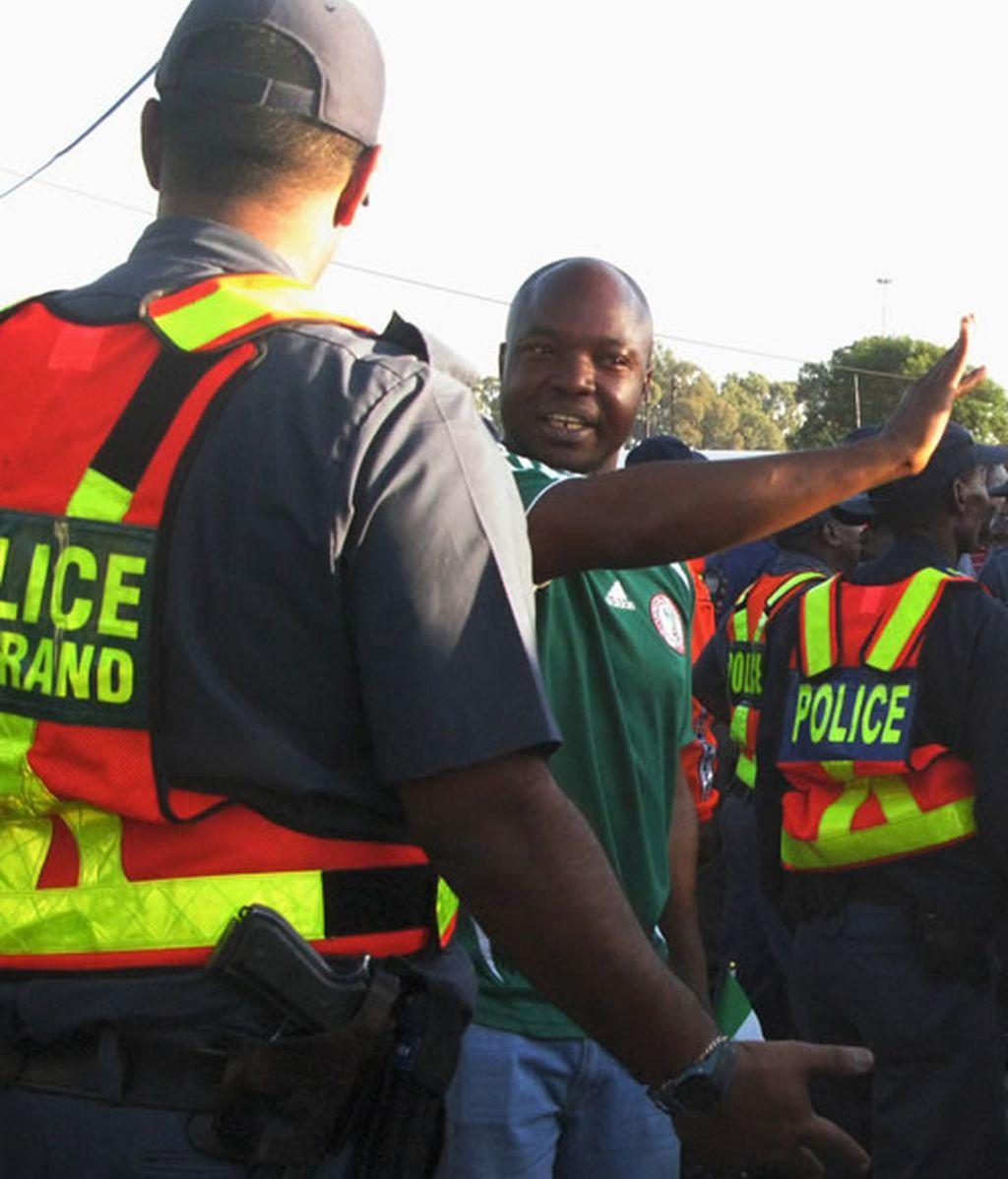 La seguridad en Sudáfrica