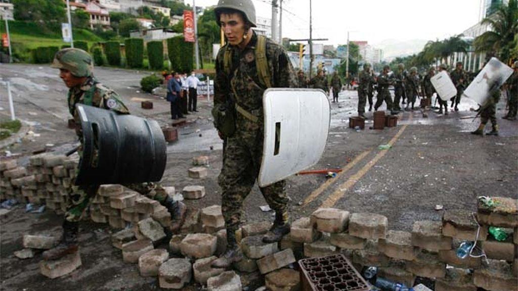 Militares en Honduras