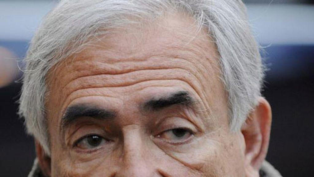 Fotografía de archivo del director gerente del Fondo Monetario Internacional, Dominique Strauss-Kahn