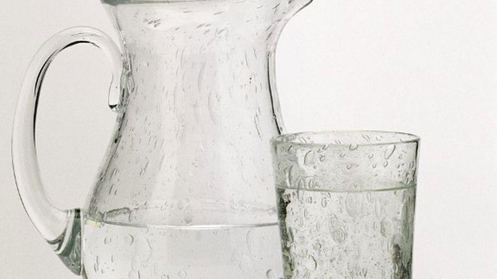Vaso de agua, para la hidratación