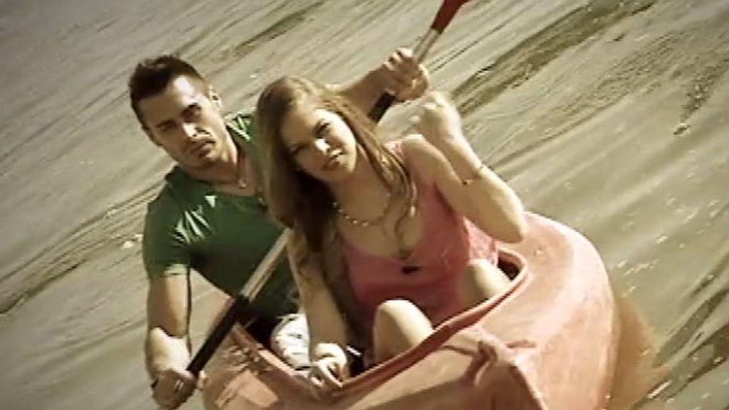 Jose y Blanca han dado un paseo en piragua