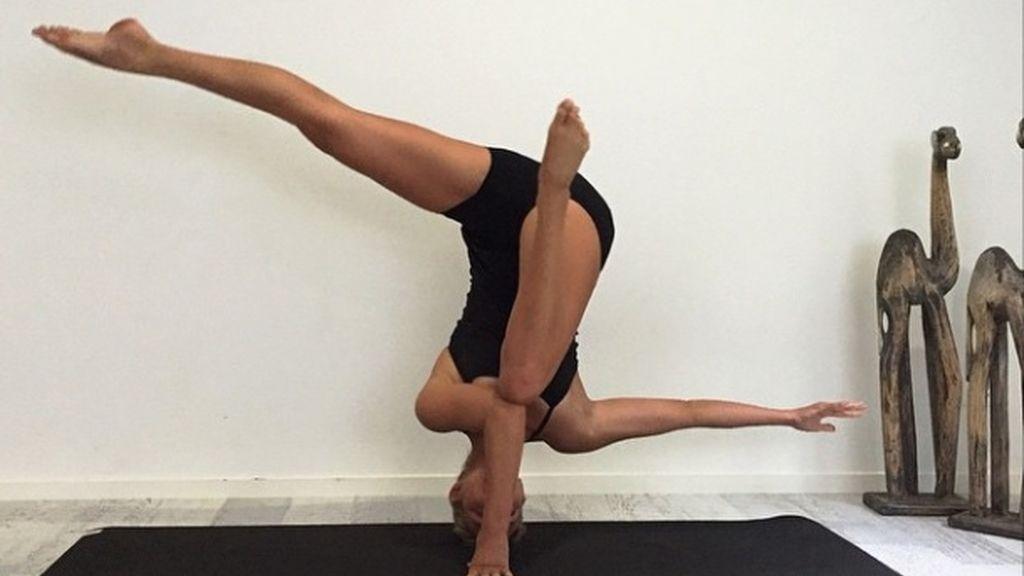 Eliza Landgren, de 23 años, ha hecho viral su afición por este deporte