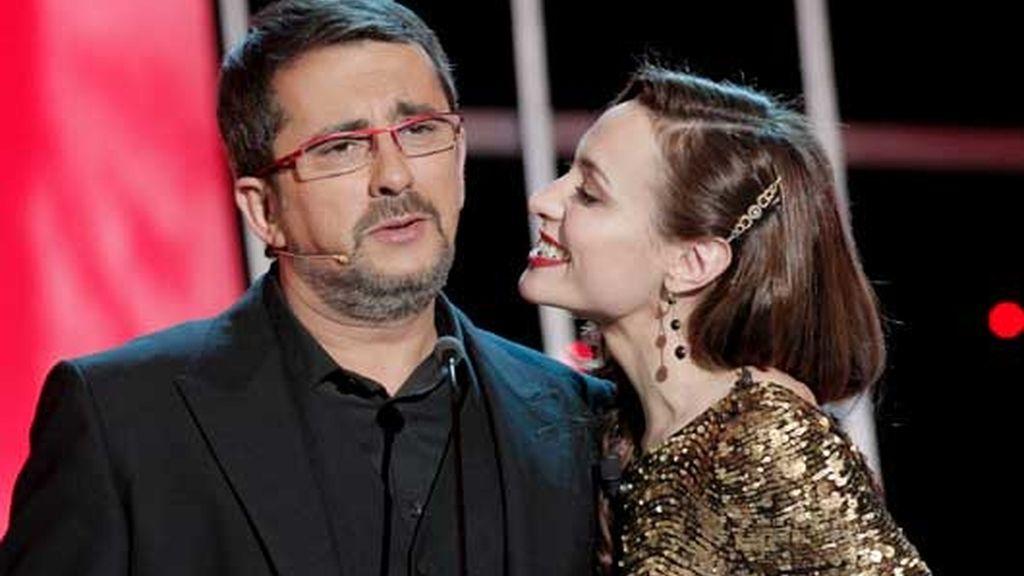 Andreu Buenafuente y Natalia Verbeke