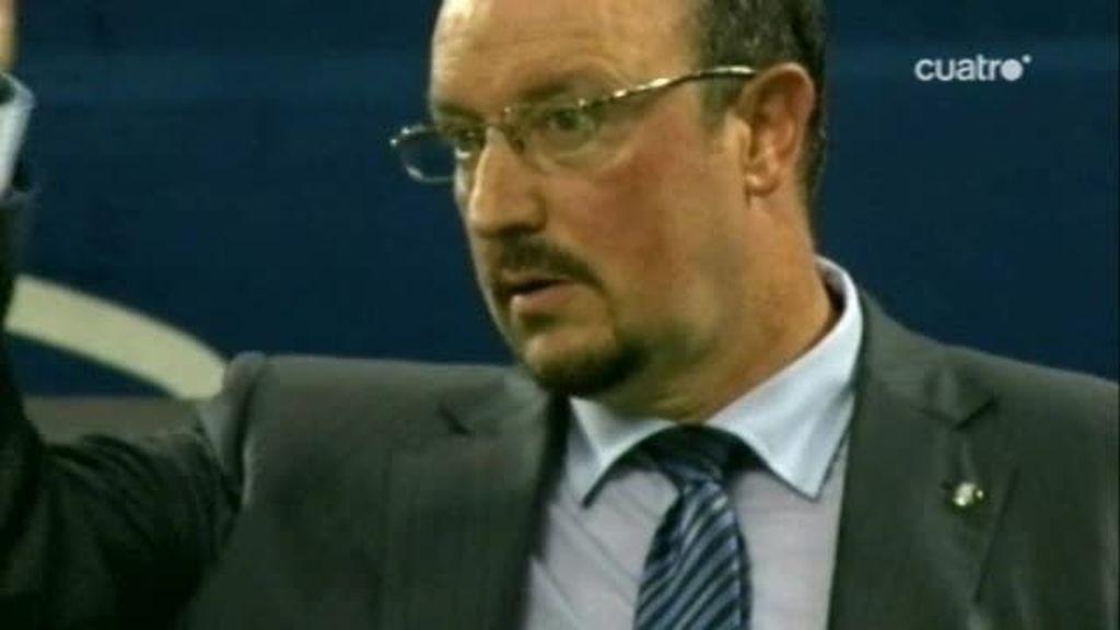Rafa Benitez se estrena en Italia con un título