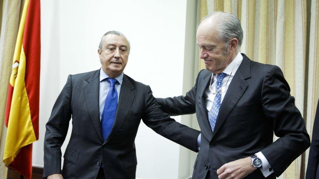 Presidentes de Adif y Renfe. Foto: EFE