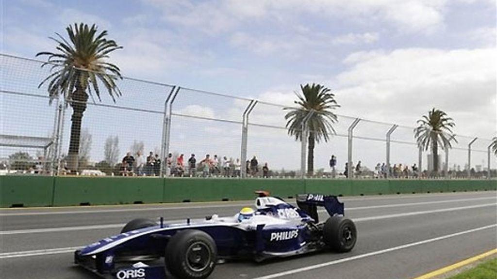 Nico Rosberg, dominador de la jornada