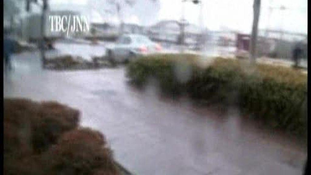 Huyendo del tsunami