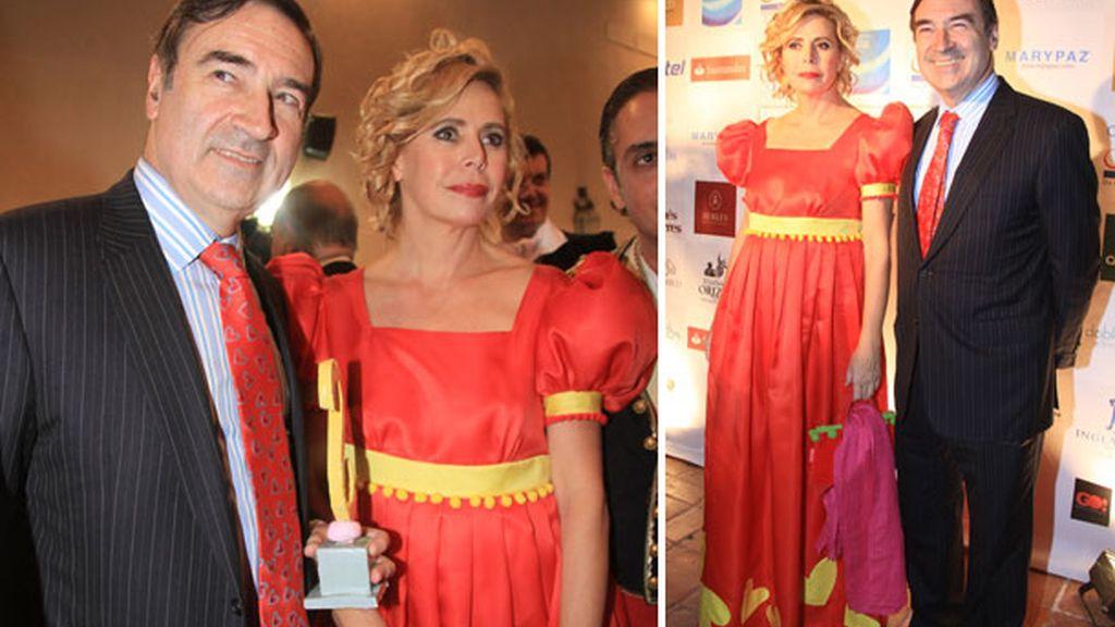 Ágatha Ruiz de la Prada homenajeó a 'la Pepa' a su estilo