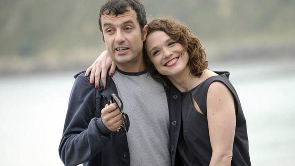 El director Javier Rebollo y la actriz argentina Valeria Alonso