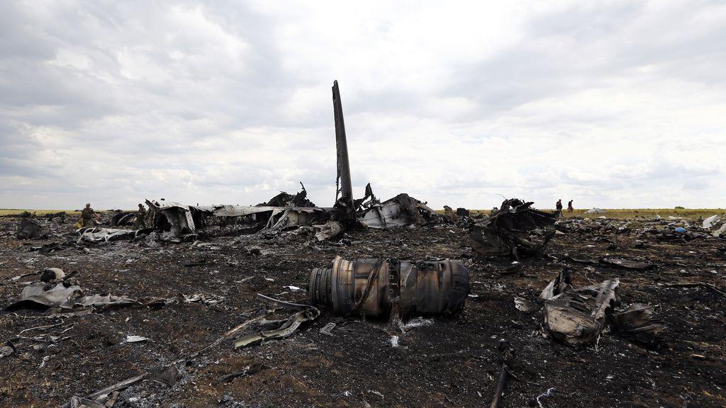 Mueren 49 los soldados ucranianos en el derribo de un avión en Ucrania
