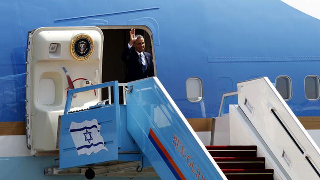 Obama llega a Israel