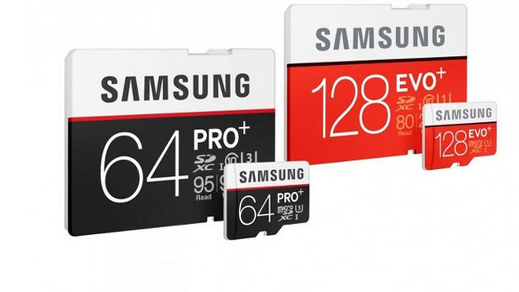 Samsung,tarjetas de memoria,PRO Plus,EVO Plus