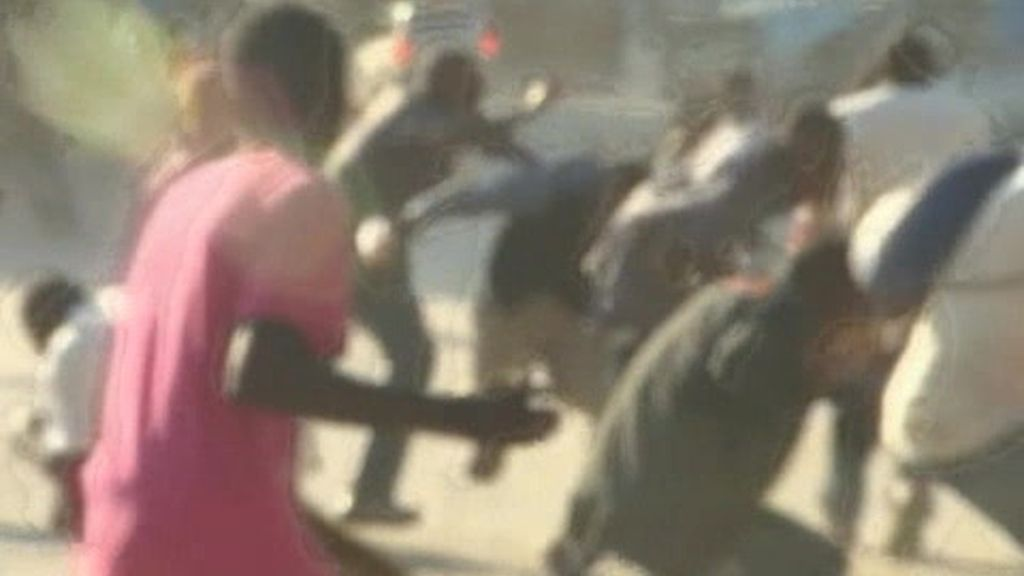 Los disturbios llegan a Puerto Príncipe
