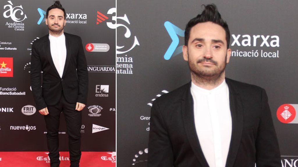 El director de cine Juan Antonio Bayona tampoco se perdió el evento