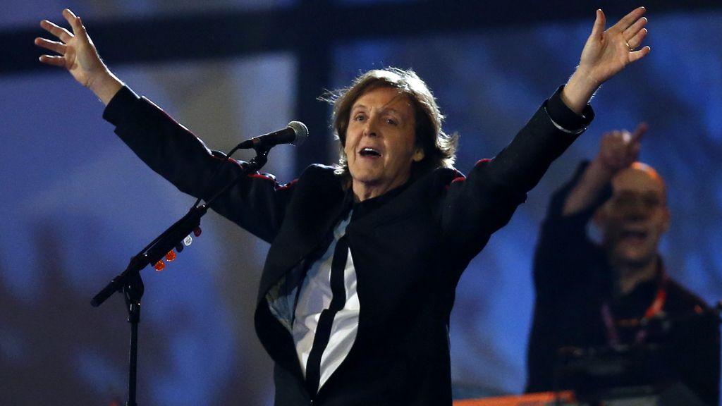 El cantante Paul McCartney