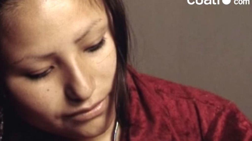 La madre de la niña sirena no vió a su hija hasta un mes después de dar a luz