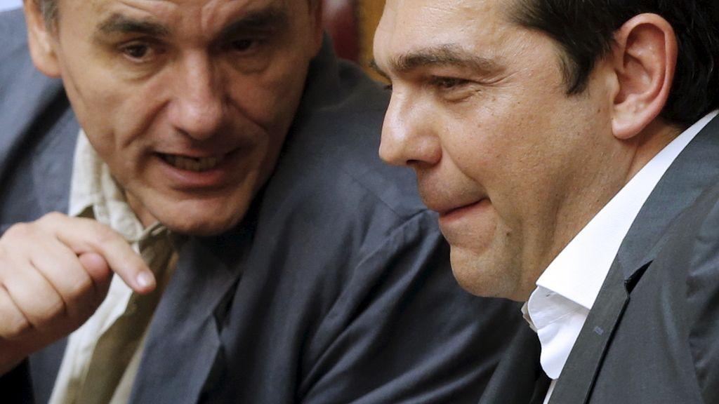 Alexis Tsipras y Euclides Tsakalotos