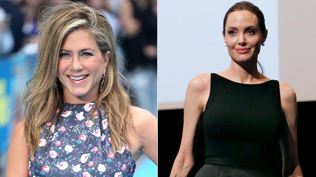 Jennifer Aniston y Angelina Jolie