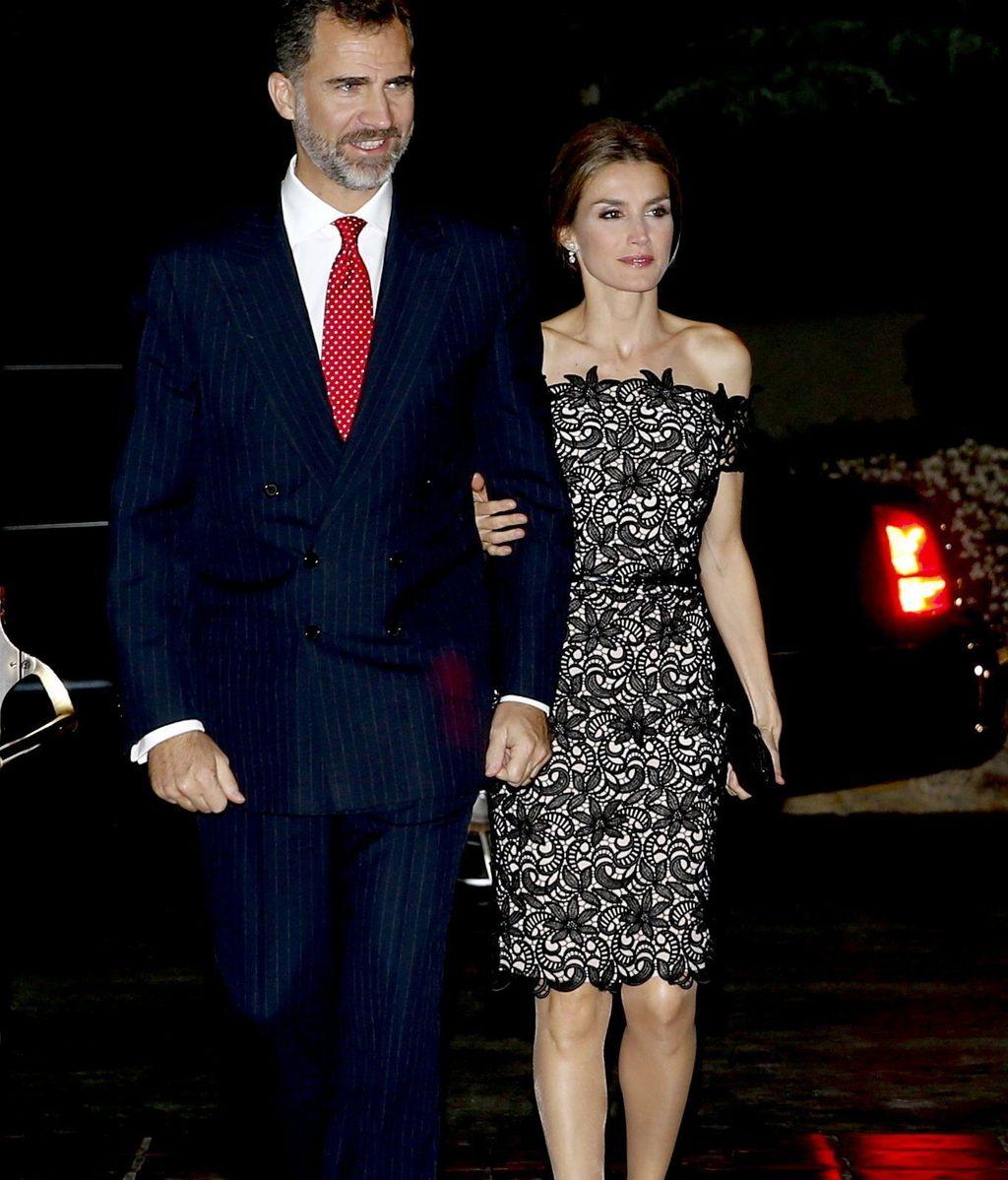 Los Príncipes de Asturias, en EEUU